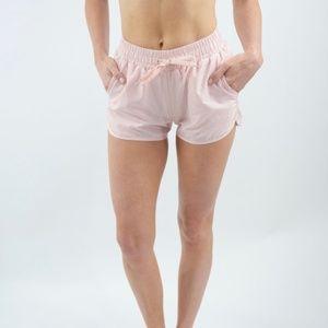 Pants - ZYIA Blush Bomber Shorts